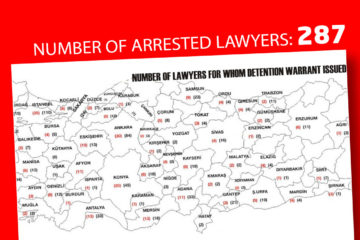 287 lawyers arrested, 708 lawyers wanted as part of post-coup purge in Turkey