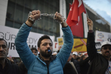 The Number Of Jailed Journalists In Turkey Reaches To 200