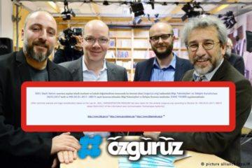 Turkey blocks Dündar's recently launched news website