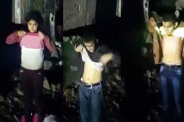 [VIDEO] Footage shows police ordering Kurdish kids to bare midriffs in security check