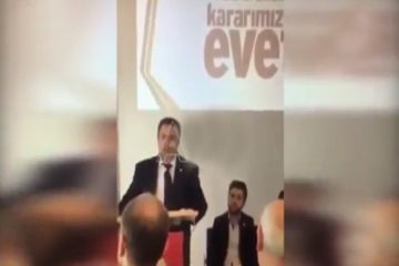 AKP's Austria head says rejection of executive presidency would lead to civil war