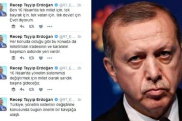 Once declaring it a menace, Erdoğan starts campaigning on Twitter