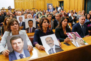 3,126 years in prison, 18 life sentences sought for 55 HDP deputies