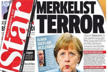 Pro-gov't daily calls German police operations on Turkey's spying imams 'Merkelist terror'