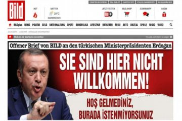 Turkey blocks access to German daily Bild's website