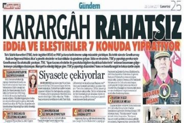 Erdoğan says Hürriyet daily will pay a heavy price for army-gov't tension story