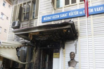 Famous thespian's arts center damaged in alleged arson attack