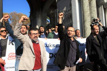 Eight more academics detained amidst protests against post-coup purges