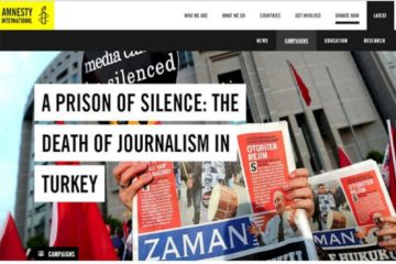 Amnesty launches campaign to show solidarity with jailed journalists in Turkey
