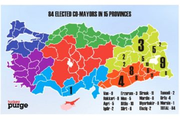 Turkish gov't jails 84 pro-Kurdish mayors, seizes 54 municipalities to date