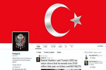 High-profile Twitter accounts hacked by Erdoğanist hackers