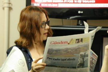 Turkish actress sentenced to 15 months in prison for supporting pro-Kurdish newspaper