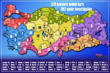 370 lawyers jailed, 967 others investigated since July 15