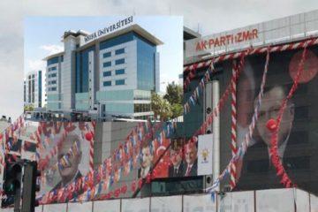 AKP turns seized university into İzmir headquarters