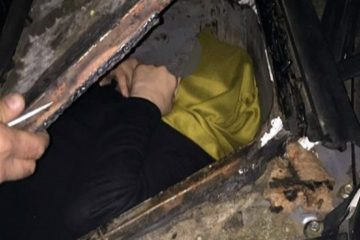 Woman detained while trying to escape Turkey witch hunt in hidden compartment