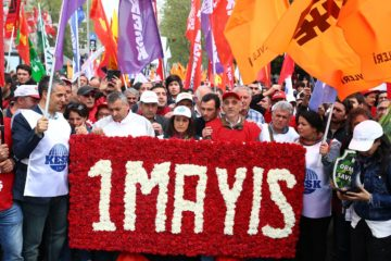 Turkey celebrates May Day under emergency rule, over 200 people detained in İstanbul