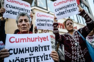 Cumhuriyet journalists appear in Turkish court 267 days after their arrest