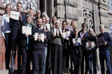 Danish parliamentarians demonstrate, call Turkish gov't to free jailed HDP deputies