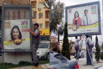 Turkish court bans pro-kurdish HDP's referendum campaign billboards