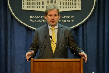 EU commissioner Hahn calls for change of tack in ties with Turkey
