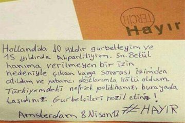 Amsterdam-based Turkish citizen says lost job due to Erdoğan's policy of hatred