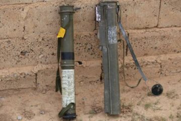M72 LAW produced by Turkey's MKE captured from ISIL in Tabqa