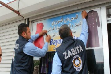 Arabic signboards being removed in various Turkish provinces