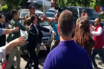 Bodyguards, fanatics of Turkey's Erdoğan attack protesters in Washington