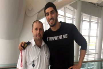 Turkish FM confesses NBA player Kanter's world tour disrupted in post-coup crackdown