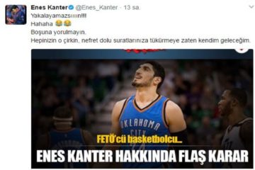 NBA star Enes Kanter tells Turkish government 'You can't catch me'