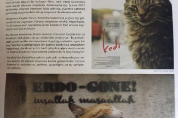 İstanbul Municipality shuts down magazine for publishing graffiti reading 'Erdo-gone'