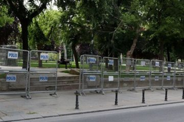 Turkish gov't seals off Gezi Park days before the anniversary of 2013 protests