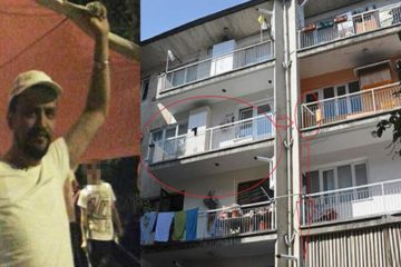 Teacher dies after allegedly falling from balcony as police raid home to detain