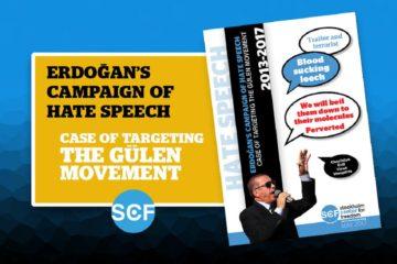 SCF study reveals horrible pattern of hate speech by Erdoğan, the chief hatemonger in Turkey