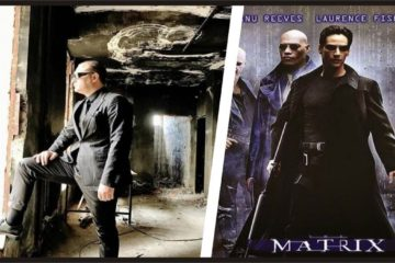 Governor, who poses like Matrix's Neo in a house burnt by security forces in SE Turkey, draws ire
