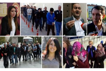 TURKEY PURGE IN PAST 30 DAYS: 2125 detained, 580 jailed, 9,103 suspended, 3,974 dismissed over coup charges