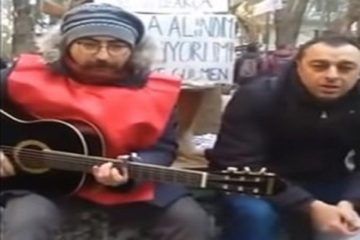 Turkish prosecutor accuses hunger striker educator of 'playing guitar'