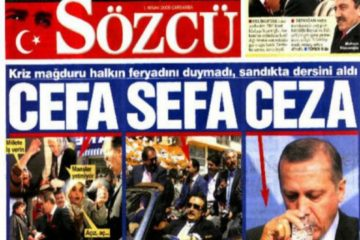 Detention warrants issued for Sözcü daily's owner, 3 employees over alleged Gülen links