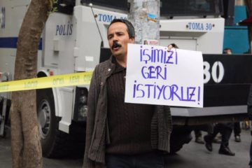 Turkish government launches probe into dismissed protestor Veli Saçılık