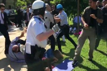 Erdoğan's security detail attack on DC protesters puts gun sale to Turkey at risk