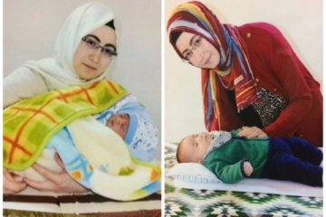 Turkish teacher, jailed over alleged Gülen links, gives birth to her 3rd child in prison