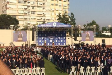 Boğaziçi University's students protest partisan rector appointed by Turkey's Erdoğan at graduation ceremony