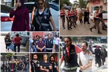 Turkish gov't detains 930 people in post-coup witch hunt campaign targeting Gülen movement over past week