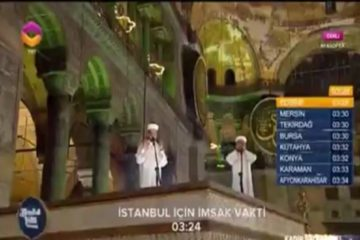 Greece condemns Islamic religious ceremony in İstanbul's Hagia Sophia