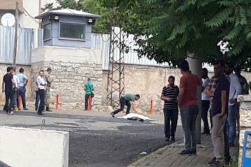 An armored vehicle used by Turkish security forces kills old woman in Diyarbakır's Lice district