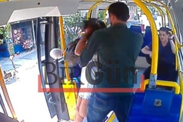 Video footage shows man attacking woman for wearing shorts on İstanbul minibus