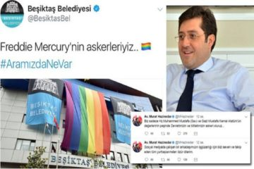 Turkey's Beşiktaş mayor apologizes for Freddie Mercury tweet marking LGBT Pride Week
