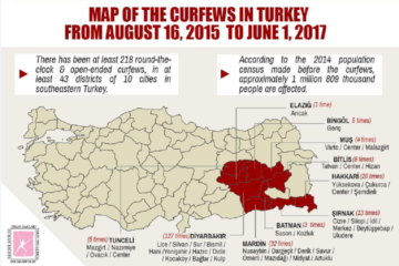 TİHV report shows curfews declared by Turkish gov't adversely affected 1,6 million people