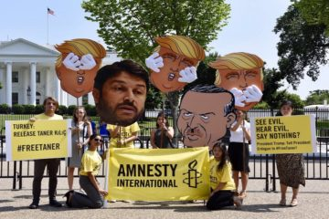 Amnesty International launches int'l campaign for release of AI Turkey chairman