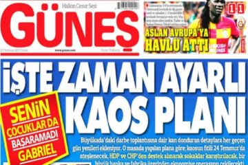 Turkey's pro-gov't daily claims rights activists were plotting coup attempt on Büyükada